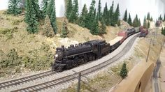 The Hudson Bay Railway operates on the Kettle Valley Railway | Model Railroad…