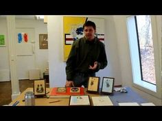 Online Art classes, Encaustic Workshop part 3, how to make an Encaustic Transfer by Jon Peters