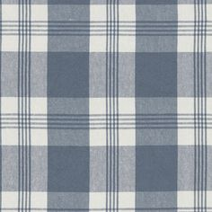 Mill Pond Check - Chambray/Cream - Blue & White - Fabric - Products - Ralph Lauren Home - RalphLaurenHome.com