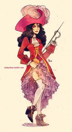 Captain Hook Genderbend