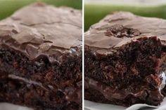 Extra vlhké Cuketové brownies. Krásne a lepkavé brownies, ktoré sa rozpadajú tak, že ich musíte jesť lyžičkou.