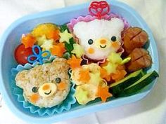 Bentou (Japanese lunch box). You can eat it of course.