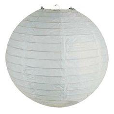 Led verlichte lampion 35 cm wit | PRODUCTEN | lampion-lampionnen