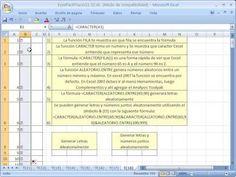 Excel Facil Truco #18: Generar letras elatoriamente - YouTube. Bajar el libro de trabajo: http://www.excelfacil123.com.ar/  Como utilizar las funciones FILA, CARACTER, ALEATORIO.ENTRE para generar letras aleatoriamente/al azar. Como crear secuencias de letras. https://www.youtube.com/watch?v=jlZcj09_WGo
