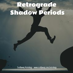 With Mercury, the retrograde period lasts about 3 weeks. After that three week period, you may think that it is now fine to move ahead with what you might have put off because of the retrograde period.  However, it may not be smooth sailing just yet, as the retrograde planets have what are called shadow periods.