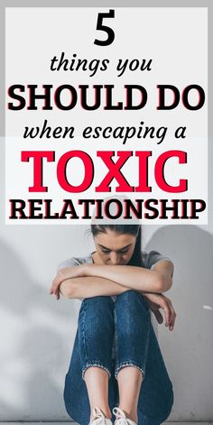 Here are 5 things you should do when escaping a toxic relationship! Troubled Relationship, Abusive Relationship, Toxic Relationships, Relationship Problems, Healthy Relationships, Relationship Advice, Good Marriage, Marriage Advice, Marriage Separation