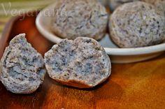 Pão de Quinoa e Semente de Linhaça ~ Quinoa Flaxseed Gluten Free Buns ~ Veganana