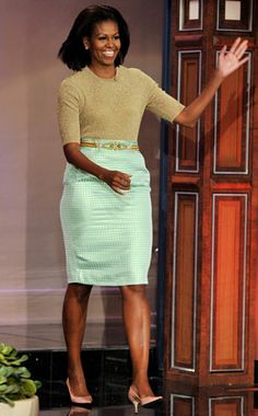 Here's How Michelle Obama Makes Pastels Look Chic