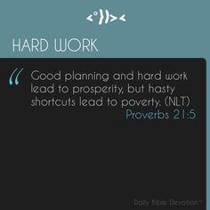 Praise God!  Do you have a good work ethic? Work hard every day, as if you were looking for The Lord. It makes you strengthen your relationship with God and builds your character.  Read the companion Devo at http://www.jctrois.com/dailybibledevotion/devotion.html?devo=bWGvt3GxEY or check out @bibleverseapp for more pins!
