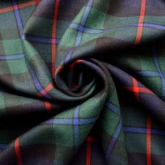 Tartan - Campbell Of Cawdor Tartan Fabric, Suit Fabric, Wool Fabric, Punjabi Wedding Couple, Wedding Couples, Wedding Ideas, Kilt Accessories, African Dresses Men, Fabric Board