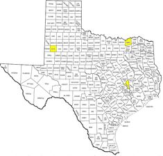 texas counties map with cities over 5000 in population  Google