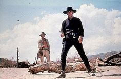 Charles Bronson and Henry Fonda in Once Upon a Time in the West