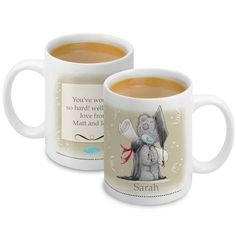 Personalised Me to You Bear Graduation Mug - £10.99 - http://www.metoyouonline.com/details.aspx?PID=14972&referrer=fb