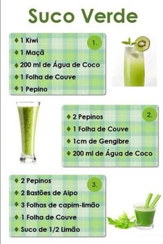 DETOX: Juice rich in antioxidants helps protect the body. Detoxification, or simply detox, is a functional nutrition technique whose goal is to help the Smoothies Detox, Juice Smoothie, Detox Drinks, Vitamix Juice, Dietas Detox, Detox Plan, Liver Detox, Healthy Detox, Healthy Drinks