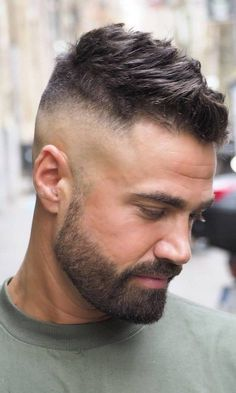 20 Cool Bald Fade Haircuts for Men – Men's Hairstyles and Beard Models Mens Hairstyles With Beard, Cool Hairstyles For Men, Haircuts For Men, Medium Hairstyles, Messy Hairstyles, Wedding Hairstyles, Men's Haircuts, Modern Haircuts, Beard Styles For Men