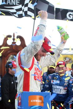 Dale Earnhardt Jr. now has something he's wanted since he was a kid. A Martinsville grandfather clock. 10-26-14