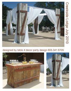Barn Board Bar
