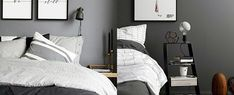 Ditch the vibrant colors for one of subtlety and sophistication with the top 60 best grey bedroom ideas. Boys Bedroom Curtains, Big Bedrooms, Boys Bedroom Decor, Gray Bedroom, Modern Bedroom, Bedroom Ideas, Scandi Bedroom, Bed Rooms, Master Bedroom