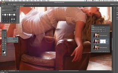 How to edit levitation photography to make your subject float: step 5