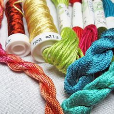 Discover how the fiber, weight and twist of hand embroidery threads help add dimension and texture with this helpful guide to the best threads for hand embroidery.