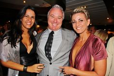 Echo Brickell Launches With Spectacular Event On Board The Seafair. | MetroCitizen Magazine. Gaby Gonda, Ken Golden, Lisa Whitaker.