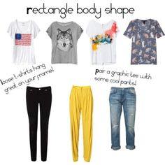 Rectangle Body | rectangle body shape
