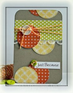 I love this layout from PaperCrafts' Go To Sketch magazine. Here's another great example.