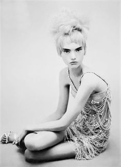 Gemma Ward by Paolo Roversi for Vogue Italia March 2004