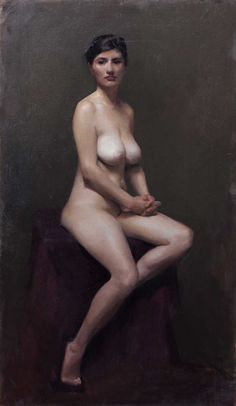 Sheridan Elphick, Third year student - Figure painting. Florence Academy of Art http://www.florenceacademyofart.com