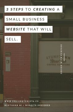 Creating a Small Business Website