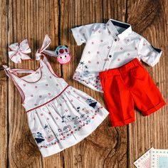 Baby Girl & Boy Summer Outfits months - AnneBebe Brand - Made in Romania Boys Summer Outfits, Summer Boy, Romania, 18 Months, Rompers, How To Make, Baby, Clothes, Collection