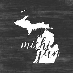 "24 in. x 24 in. """"Home State Typography - Michigan"""" by Inner Circle Canvas Wall Art, Multi-Color Acrylic Wall Art, Canvas Wall Art, Canvas Prints, Big Canvas, Michigan Colors, State Canvas, Circle Canvas, Wolf Canvas, Thing 1"