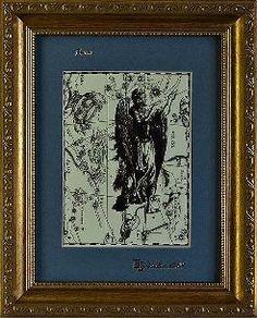 """Светящаяся в темноте картина """"Дева"""" - Знаки зодиака светящиеся <- Картины, плакетки, рельефы - Каталог   Универсальный интернет-магазин подарков и сувениров"""