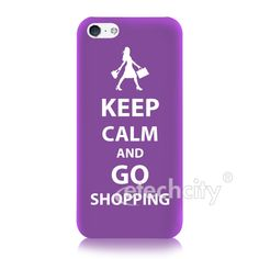 UV Coated Keep Calm Designer Collection Hard Back Case for iPhone 5C [KPCM-PVCC] - $23.90  #keepcalm #UV #iPhone5C