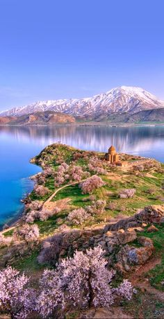Stunning Akdamar Island, Lake Van, Turkey