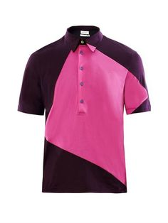 Colour-block polo shirt | Paul Smith | MATCHESFASHION.COM