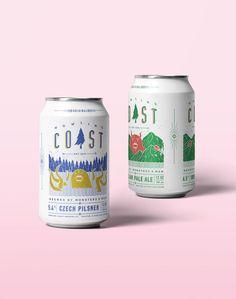 Howling Coast: Beer Packaging on Behance