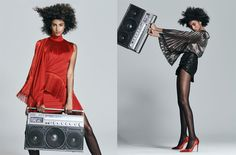 Cover Story   Imaan Hammam works SS17's disco-ready pieces   Magazine   NET-A-PORTER.COM