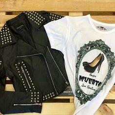 Buenos días Feliz Sábado Loves‼️‼️ Antes Muerta que Sencilla 😍😂... Nos preparamos para Halloween 👻😜 🙋🏻 Camiseta Disponible en la web 👇🏼👇🏼👇🏼http://imagenmasdeporte.com/es/inicio/282-camiseta-antes-muerta-que-sencilla.html @anny_clothings #look #style #cute #cool #fashion #camisetas #amywinehouse #skull #trendy #camisetasconsentido #camisetasconmensajes #blogger #blog #boho