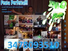 A soli 90 e feste 18 ANNI eventi con dj animazione karaoke
