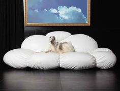 Lounge on a Cloud in Your Living Room with the Cirrus Sofa | Designs & Ideas on Dornob