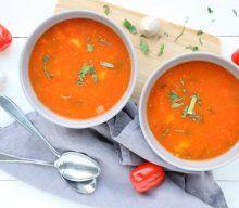 Zelf tomatensoep maken met verse tomaten