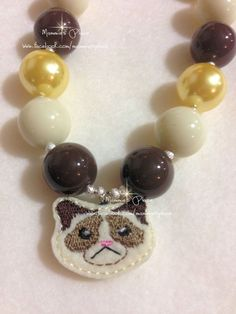 Chunky Bead Necklace Inspired by Grumpy by MammiesPlace on Etsy, $17.00