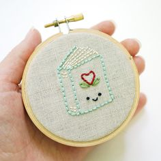 Vintage Embroidery Patterns Little Book Embroidery Pattern - Visit Mollie Johanson.) She is totally LOVEABLE! (Waving to her from my teaching station at Crafty Planet! Embroidery Designs, Embroidery Transfers, Embroidery Hoop Art, Hand Embroidery Patterns, Vintage Embroidery, Cross Stitch Embroidery, Machine Embroidery, Sashiko Embroidery, Japanese Embroidery