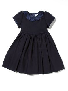 Tweed Ruffle Collar Dress by Baby CZ at Gilt