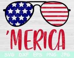 Merica Svg, of July Svg. Patriotic Svg Cut Files for Cricut and Silhouette. Craft Supplies & Tools merica svg of july svg patriotic. July Quotes, Animated Gifs, July Crafts, Kids Crafts, Svg Files For Cricut, Cricut Fonts, Svg Cuts, Independence Day, Shadow Box