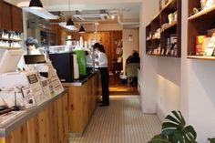 丸山珈琲の東京第1号店のカフェ Basketball Court
