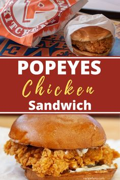 Our Popeyes Chicken Sandwich copycat recipe is the closest thing to the original you'll find. Don't worry about this sandwich ever being sold out again when you can make this chicken sandwich at home yourseld. Grill Sandwich, Pastrami Sandwich, Gourmet Sandwiches, Dinner Sandwiches, Popeyes Fried Chicken, Making Fried Chicken, Fried Chicken Recipes, Popeye's Spicy Chicken Recipe, Recipes