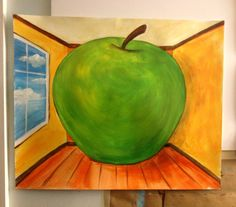 Magritte's Apple / Creative Art Workshop for Kids
