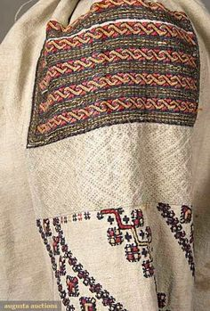 Popular Folk Embroidery Hello all, I received a request for more information about the costume and embroidery of Ukrainian Bukovyna. I had not yet gotten aroun. Polish Embroidery, Folk Embroidery, Learn Embroidery, Embroidery Stitches, Embroidery Patterns, Textiles Techniques, Embroidery Techniques, Folk Costume, Costumes